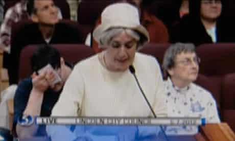 Jane Svoboda at Lincoln, Nebraska council meeting