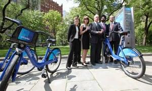 NYC bike share launch, May 2012