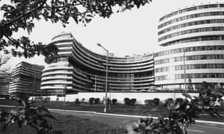 The DNC offices in the Watergate complex, 1973