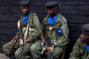 Gallery Conflict in Congo: soldiers in east Congo