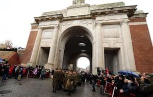 Gallery Armistice Day: Armistice day in Ypres, Belgium