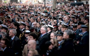 Armistice Day commemoration ceremony at the Cenotaph in London, UK