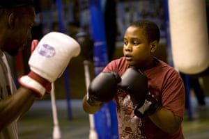 Gallery All Stars Boxing Gym: Young boxer training