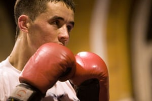 Gallery All Stars Boxing Gym: A young boxer trains
