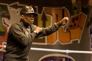 Gallery All Stars Boxing Gym: Isola Akay at the All Stars gym