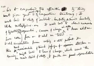 Gallery Darwin gallery: Darwin's transmutation notebooks