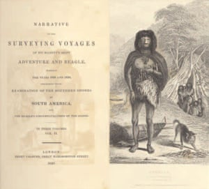 Gallery Darwin gallery: Captain Fitzroy's account of the Beagle voyage