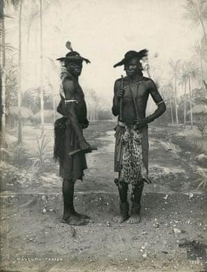 Gallery Tribal Portraits: M'suguma Dancers in Tanzania 1898 by C Vincenti