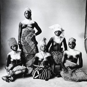 Gallery Tribal Portraits: Five turbanned Dahomey women, 1967  by Irving Penn