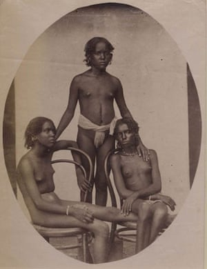 Gallery Tribal Portraits: Portrait Study, East Africa, 1875, Photographer unknown