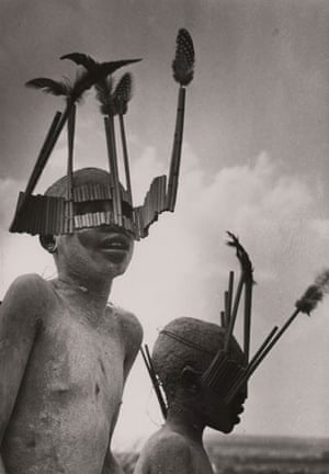 Gallery Tribal Portraits: Wagogo Tribesmen head, Tanzania, 1948  by George Rodger