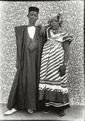 Gallery Tribal Portraits: Contemporary African Couple, 1956 by Seydou Keita