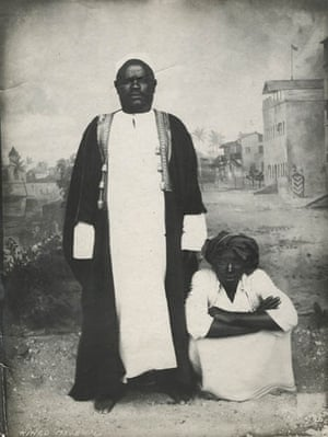 Gallery Tribal Portraits: Chief Kingo by C Vincenti 1898