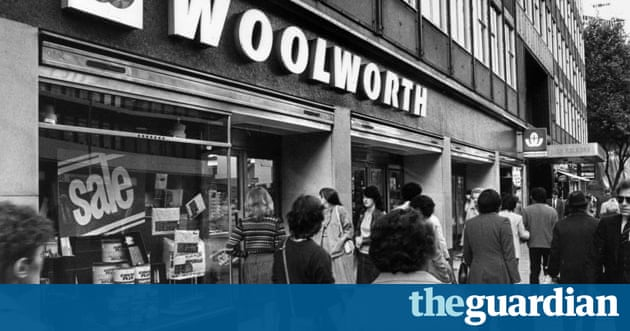 Woolworths a store of memories business the guardian Five and dime stores history