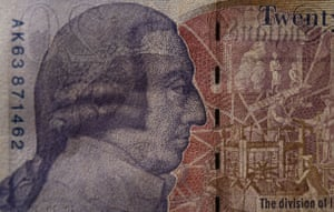 Gallery Great Scots: Adam Smith portrait on the new twenty pound note