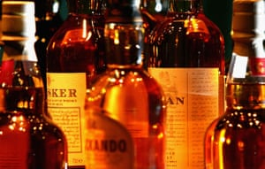 Gallery Great Scots: An assortment of bottled whisky is displayed at Glenkinchie distillery