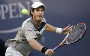 Gallery Great Scots: Andy Murray returns a shot to Roger Federer