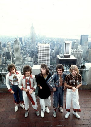 Gallery Great Scots: The bay city rollers on top of the empire state building