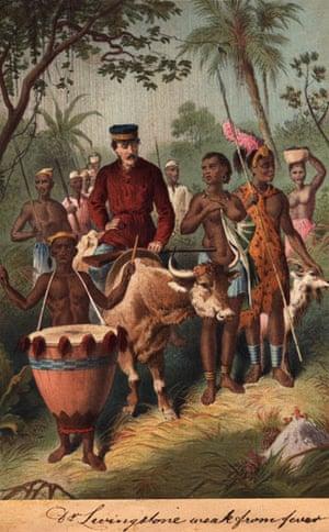 Gallery Great Scots: circa 1850: Scottish explorer David Livingstone