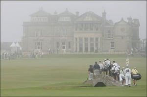 Gallery Great Scots: The open golf championship 2005, old course, St Andrews
