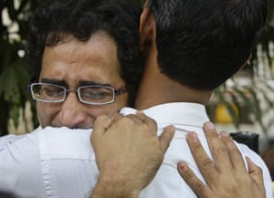 Gallery Mumbai terror attacks: A grieving releative of terror attacks at the St Georges Hospital in Mumbai