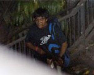 Gallery Mumbai terror attacks: A suspected terrorist outside the Chatrapati Shivaj station in Mumba