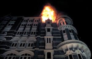 Gallery Mumbai terror attacks: Fire engulfs the top floor of the Taj Mahal hotel attacks in Mumbai