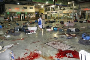 Gallery Mumbai terror attacks: The site of shootings at Chattrapati Shivaji Railway terminus in Mumbai