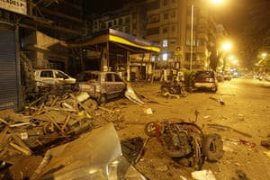 Gallery Mumbai terror attacks: Scene at the site of a blast in Colaba, a market in downtown Mumbai