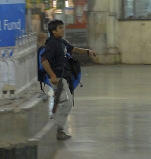 Gallery Terror attacks in Mumbai: A gunman at the Chatrapathi Sivaji Terminal railway station