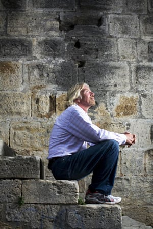 Gallery school dropouts: Richard Branson