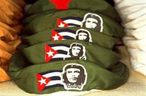 Gallery Magnum's Cuba: Che Guevara hats