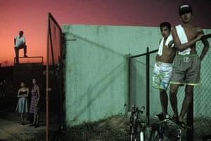 Gallery Magnum's Cuba: Baseball fans