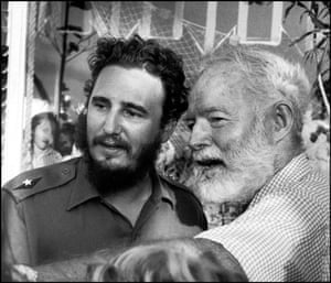 Gallery Magnum's Cuba: Fidel Castro and Ernest Hemingway