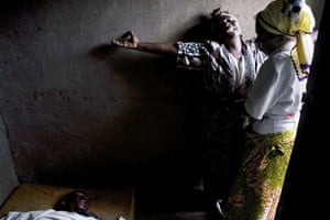 Gallery Congo conflict: A mother mourns the death of her son in Kiwanja