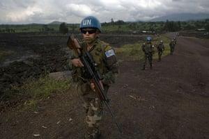 Gallery Congo conflict: MANOC soldiers in Kibati