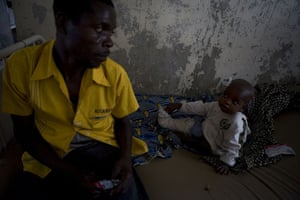 Gallery Congo conflict: Moise Mbarnsha who was injured in the fighting