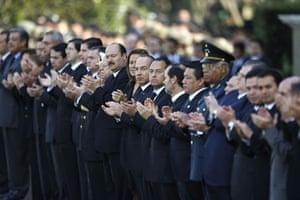 Gallery November 7 2008: Memorial service for Interior Secretary Juan Camilo Mourino
