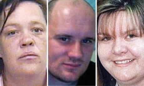 Angela Allen, Colin Blanchard and Vanessa George