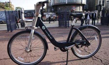 The new TfL bike