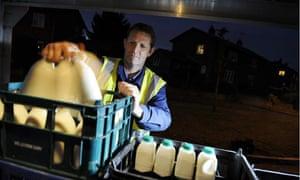 Adrian Foulger, milkman