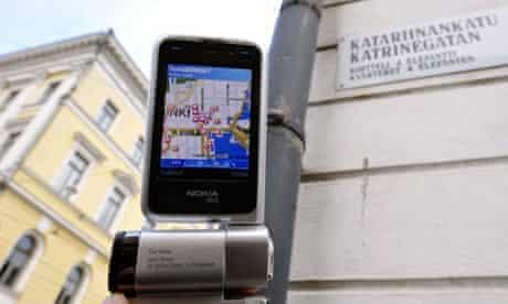 Nokia N93i in Helsinki