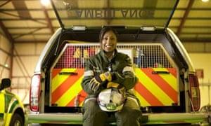 Mindy Jhamat, a paramedic in Oldbury