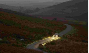 short essay on driving in the dark