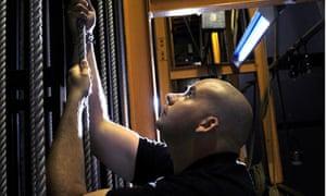 Steve Jarvis stage technician