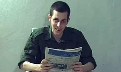 Captured Israeli soldier Gilad Shalit