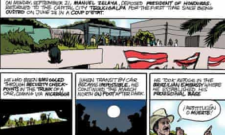 The Honduran Coup, a graphic history by Archcomix