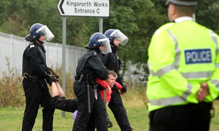 Kingsnorth protests