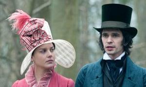 Ben Whishaw and Abbie Cornish in Bright Star