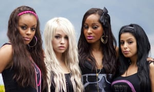 One of the groups in X Factor final 12 - Kandy Rain